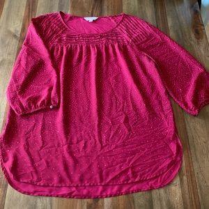 Lauren Conrad blouse size large